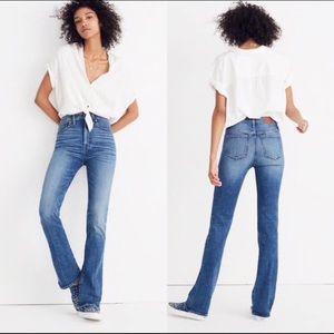 🔥Madewell skinny flare high waisted jeans, 28 EUC